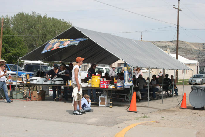 LaBarge Wyoming - River city marketplace car show